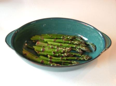 ~asparagus, the first of the year~